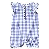 Carhartt Baby Girls' Short Sleeve Romper, Deep
