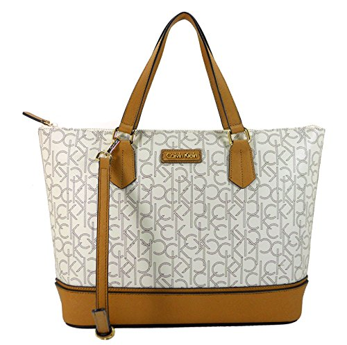 5b2a2d7665 SHOPUS | Calvin Klein Handbag, CK Coated Canvas Signature Tote