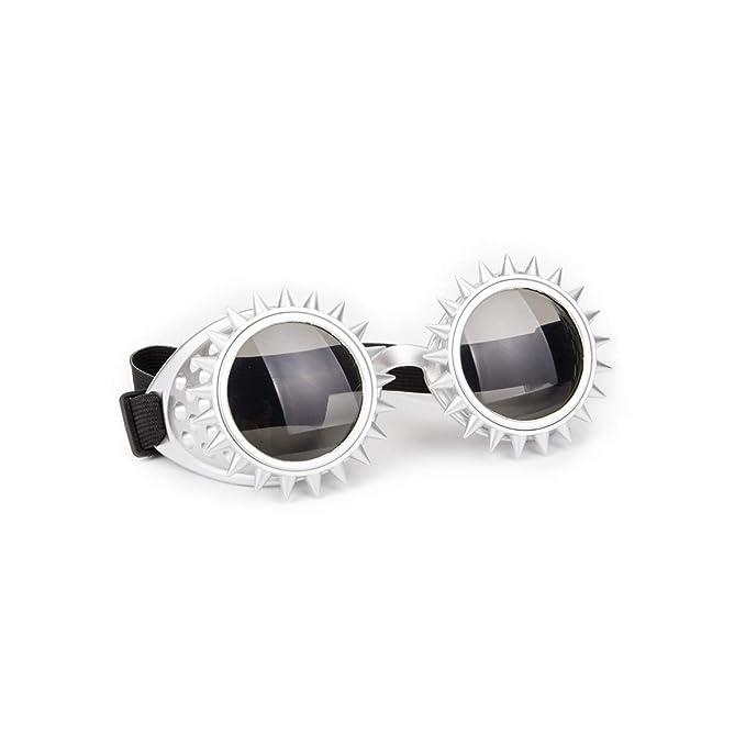 Amazon.com: KOLCY - Gafas de punk, caleidoscopio, estilo ...