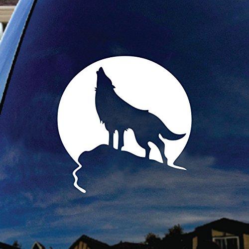wolf window decal - 2