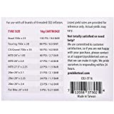 16g Threaded CO2 Cartridges - for All CO2 Bike Tire