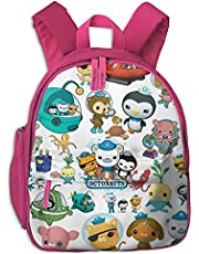 The Octo-Nauts Backpack Lightweight Cartoon Bag for Student School