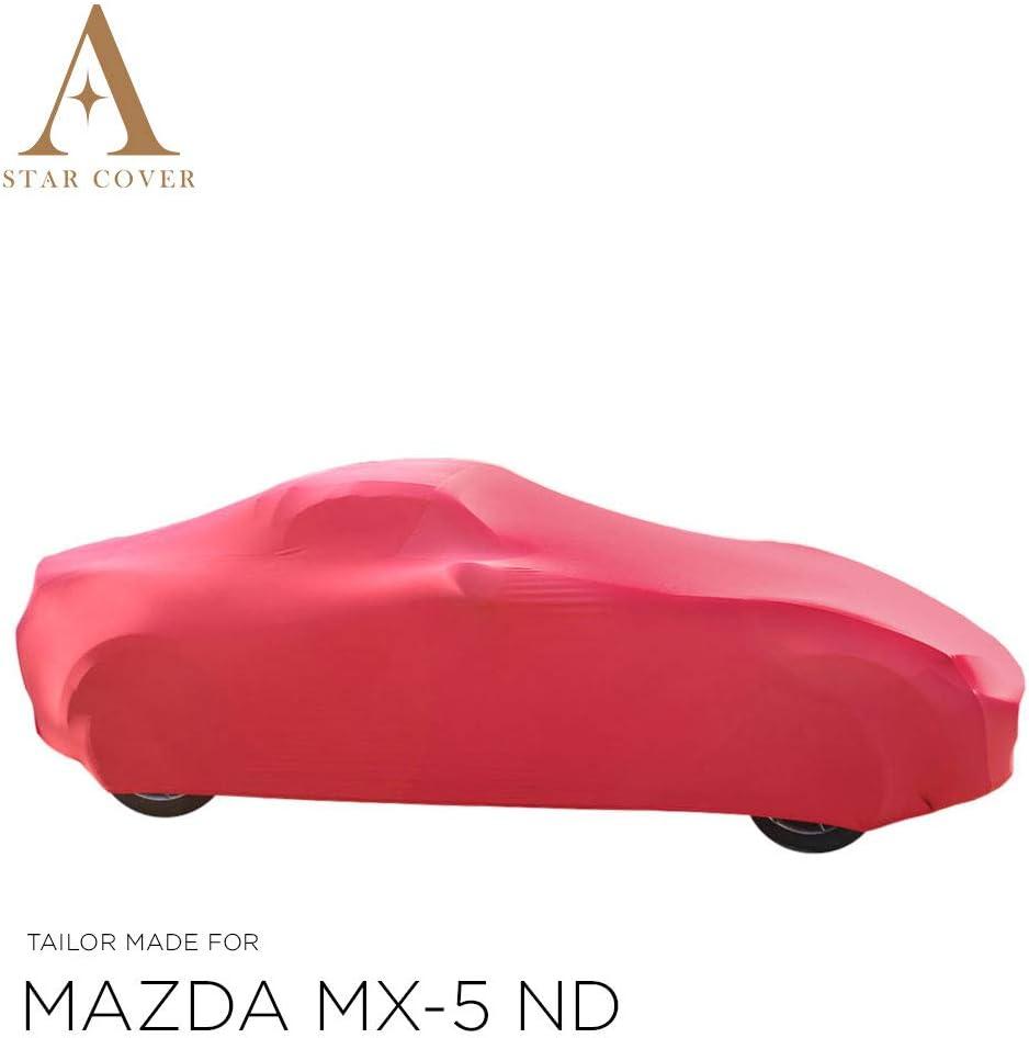 Star Cover Autoabdeckung Rot Mazda Mx 5 Nd SchutzhÜlle Abdeckplane Schutzdecke Vollgarage Auto