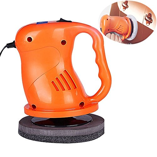 EIGIIS 12V 40W Car Polisher Machine Car Waxer Polisher Kit with 2 Car Buffing Pads Suit for Cars Railings Plastic Glass Floors Homes (Orange) by EIGIIS (Image #7)