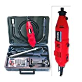 Neiko 10657 Portable 120V Die Grinder Rotary Tool, Flexible Shaft | Complete Kit with Bits & Accessories | 40-Piece Set