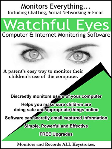Watchful Eyes Computer and Internet Monitoring Software [Download] by JCO LLC