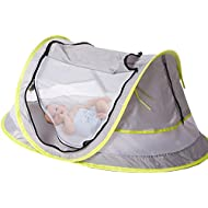 Baby Travel Bed, Portable baby beach tent UPF 50+ Sun...
