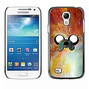 EJOY---Cubierta de la caja de protección la piel dura para el / Samsung Galaxy S4 Mini i9190 / --Cara Aventura