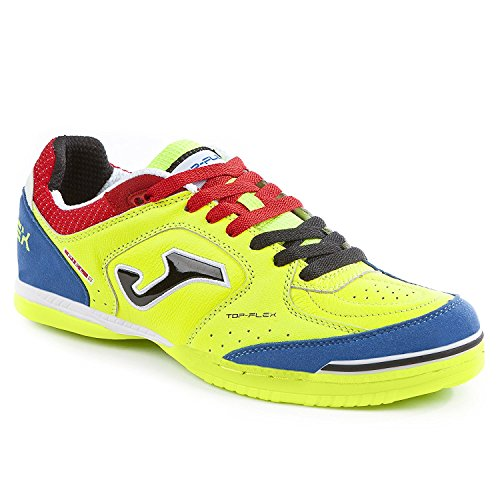 Joma Top Flex 711 Fluor Indoor - Scarpe Calcetto Uomo - Men's Futsal Shoes - Size ( EU 42.5 - CM 27.5 - UK 8 )