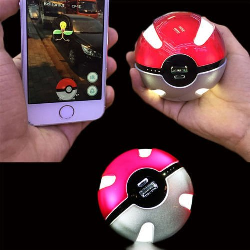 Pokemon GO Ball 10000 mAh Powerbank - 5