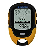 SHUTAO Outdoor Equipment Multi-function Mountaineering Altitude Meter Flashlight Temperature Humidity High Pressure Compass