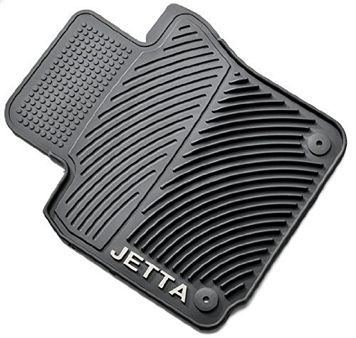 2007 Round Head Nails - Volkswagen Jetta Monster Mat Rubber Floor Mats (round clip) 2005.5 2006 06 2007 07 2008 08 2009 09 2010