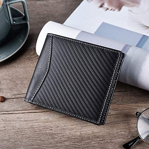 Clip Portefeuille Homme Slim Poche Frontale Bloquant RFID Titulaire