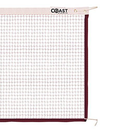 Coast Athletic Official Badminton Net | Indoor / Outdoor Badminton Net | Replacement Badminton Net