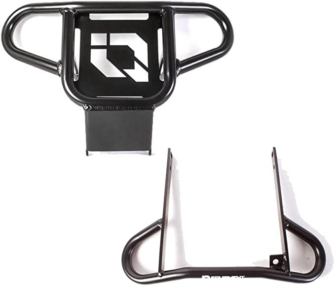 Standard Front Bumper Black 2011-2013 Yamaha Raptor 125 YFM125 2008-2013 and Raptor 250 YFM250