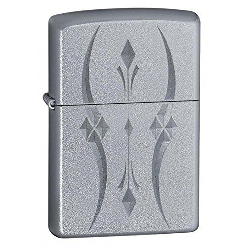 Personalized Message Engraved Customized Part6 Zippo Lighter Indoor Outdoor Windproof Lighter (Pristine Curve)