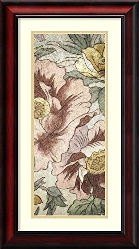 Earthtone Floral Panel - Framed Art Print 'Earthtone Floral Panel I' by Catherine Kohnke
