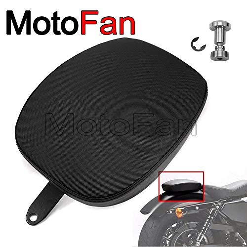 Wincom Dishman Automobiles & Motorcycles Custom Motorcycle Seats Pads Cushion Passenger Pillion Saddle for Harley Davidson Sportster XL 883 1200 48 72 Nightster Roadster