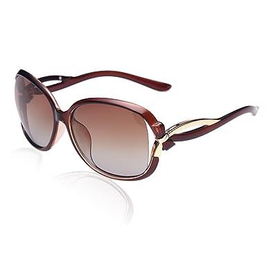 Duco Damen Sonnenbrille Polarisiert stilvolle Star Brille 100% UV-Schutz 2229 (Schwarz) VyLH9rNNZQ