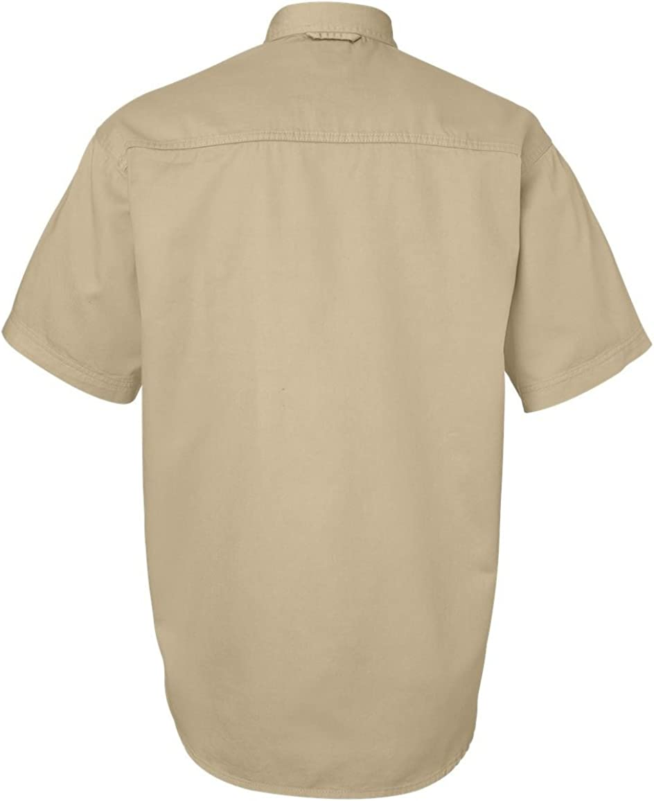 Sierra Pacific 6201 Short Sleeve Cotton Twill Shirt Tall Sizes