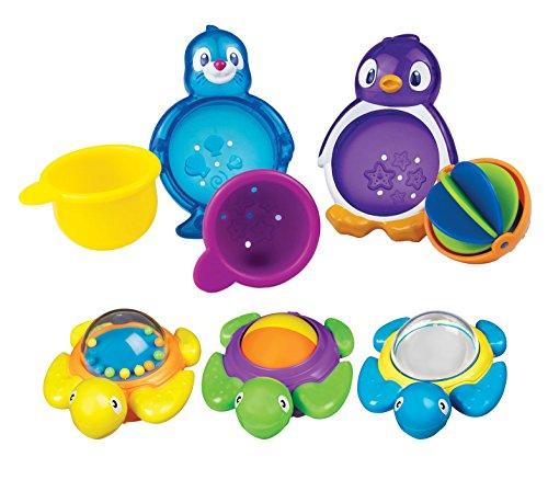 Munchkin Bath Turtles with Lazy Buoys Bathtub Toys (Munchkin Lazy Buoys Bathtub Toys)