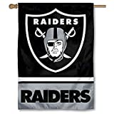 WinCraft Oakland Raiders Two Sided House Flag