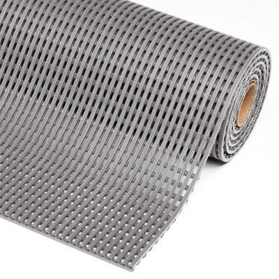 Anti-Rutschmatte, PVC - Breite 1200 mm, pro lfd. m grau - Anti-Rutschmatte Arbeitsplatzmatte Arbeitsplatzmatten Bodenbelag Bodenmatte Gummimatte Sicherheitsmatte