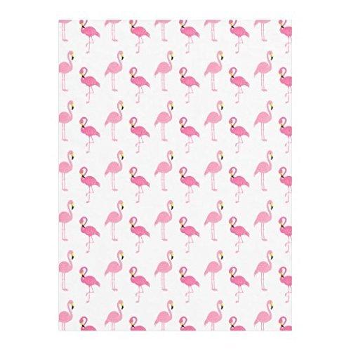 [Cute Pink Flamingos Fleece Blanket,Gift Blanket, Throw Blanket,Children Blanket 58x80 inch] (Flamingo Throw)