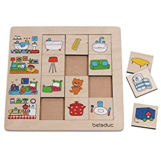 Beleduc Sorting Set Our Home Jigsaw Puzzle (12 Piece)