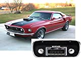 1967-1973 Ford Mustang USA-630 II High Power 300 watt AM FM Car Stereo/Radio with iPod Docking Cable
