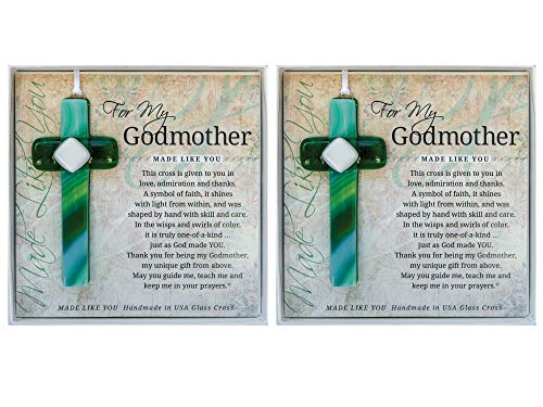 (The Grandparent Gift Co Set of 2 Grandparent Gifts For My Godmother Handmade 4