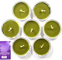 7 Pieces of Big Citronella Essential Oil Candles Anti Mosquitoes Insect Repellent