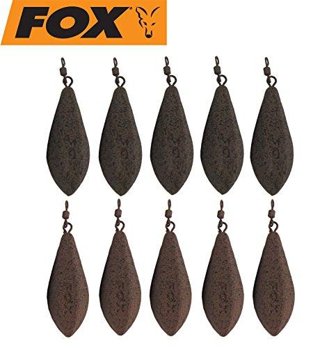 10 Fox Bleie Horizon Leads Karpfenbleie Wirbelbleie Blei, Karpfenleads, Karpfensee, Karpfenmontage, Gewicht:64g