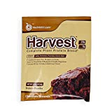 BioTrust Harvest Complete Plant Protein Powder - Dairy-Free & 100% Vegan Protein Powder - non-GMO & Soy-Free with Hemp & Pea Protein Single Serve - Chocolate Brownie