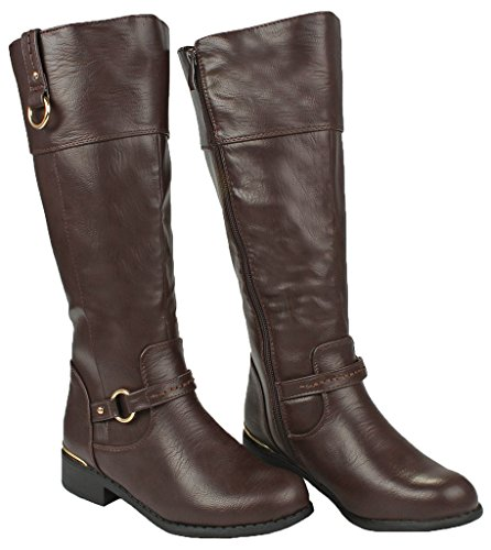 JJF Schuhe für immer Link Mango-21 Lady Boot Brown_fk