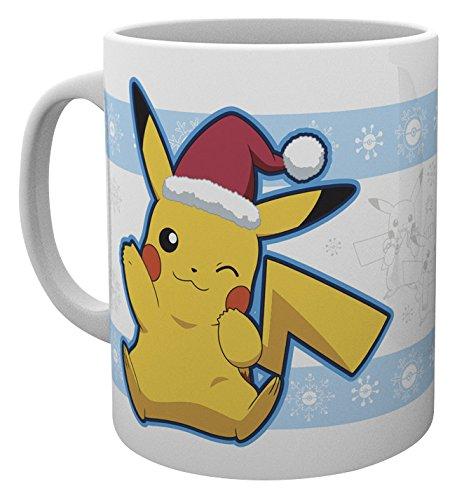 GB Eye LTD, Pokemon, Pikachu Santa, Taza: Amazon.es: Hogar