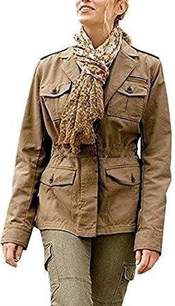 Chaqueta con Militar Estilo Mujer de Eddie Bauer - algodón ...