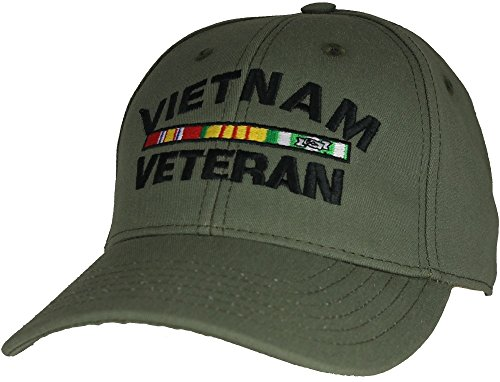 Vietnam-Veteran-OD-Green-Ball-Cap-Made-in-the-USA