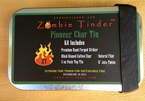 Pioneer-Char-Tin-Flint-Steel-Fire-Kit-Zombie-Tinder