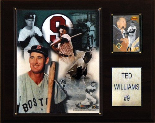 (MLB Ted Williams Boston Red Sox Player Plaque)