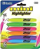Bazic Mini Fluorescent Highlighter- 6 Pack 144 pcs sku# 1798085MA