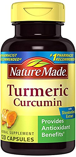 Nature Made Turmeric Antioxidant Herbal Supplement ((2 Packs)120 Count)