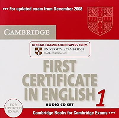 First Certificate In English Book 1