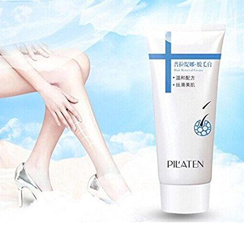 Hair Removal Cream with a Hair Removal Scraper Unisex Painless Body Leg Armpit , 100g (1 pack)