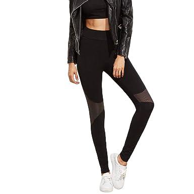 Pantalones Yoga Mujeres Sin Costura Pantalon Yoga Mujer Talla ...