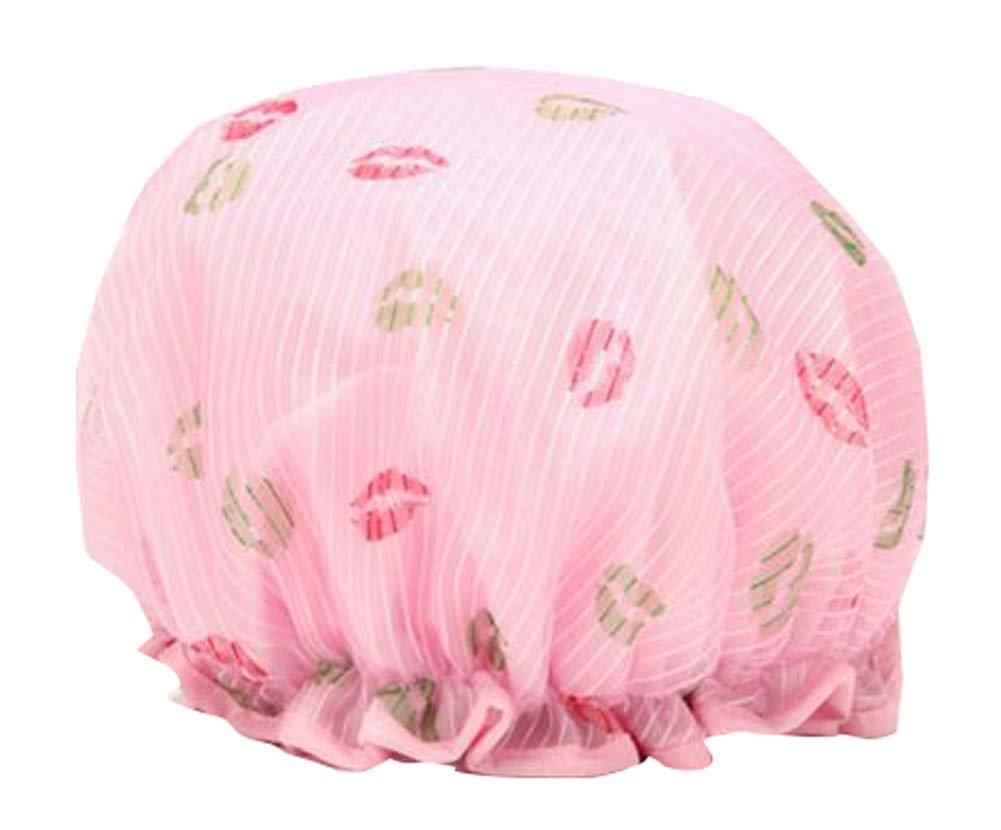 Stylish Design Shower Cap Waterproof Women Shower Bath Cap