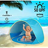 Hip Hip Baby Baby Beach Tent - Pop Up Beach Tent With Pool Shade Portable +50 UPF Sun Shelter