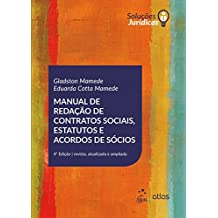 Manual de Redação de Contratos Sociais, Estatutos e Acordos de Sócios