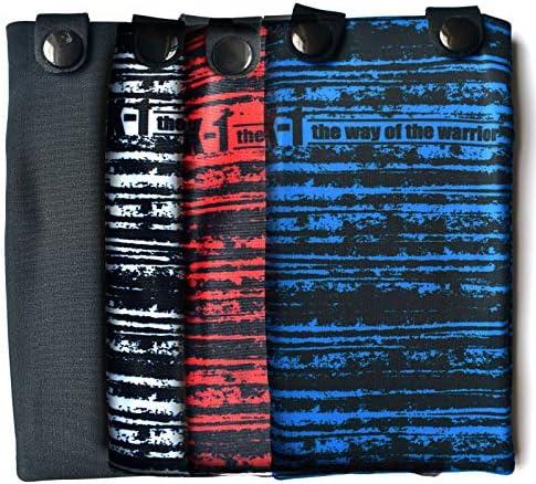 Leg Arm Hidden Sleeve Pouch Hidden Pocket for Wrist Calf iPhone Holder for Running AVANTO Ninja Wrist Wallet 2-Pack Ankle Wallet Sweatbands Phone Armband Travel Wallet with Zippered Pockets