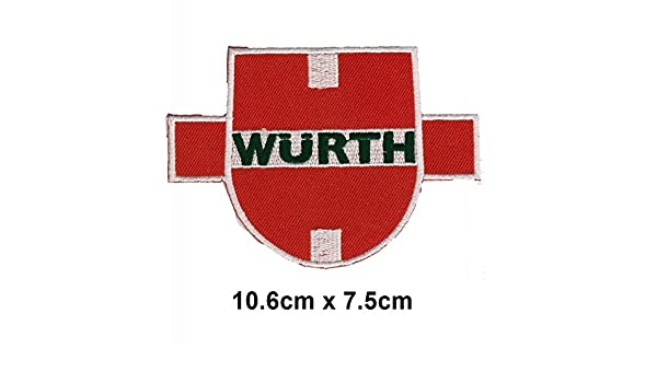 Wurth herramienta coche carreras de MotoGP Motorcorss Logo ...